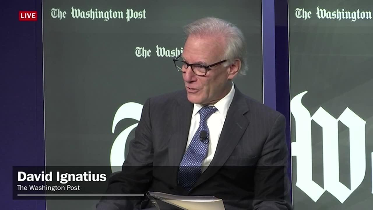 Securing Tomorrow With David Ignatius And Sen. Bob Corker