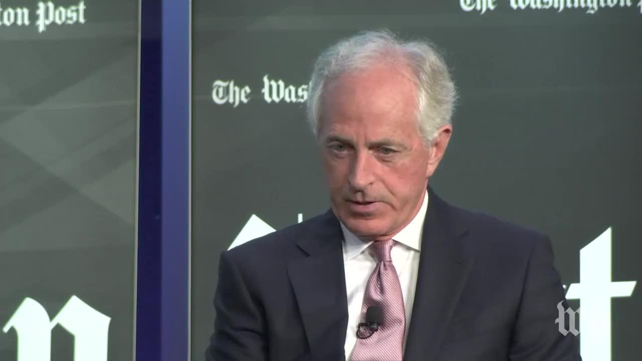 Sen. Bob Corker: There Is 'Dissonance' Between Trump And His National Security Team