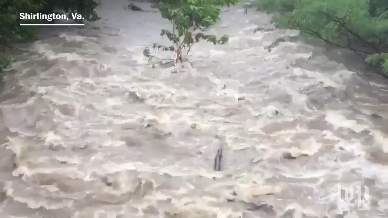 Torrential Rain Slams D.C. Region