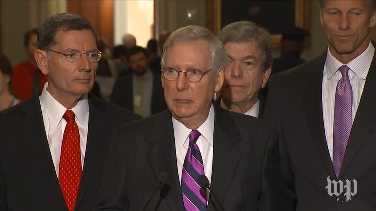 McConnell: Raising the debt ceiling 'will need to be done' to prevent a default