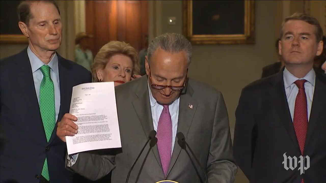 Schumer calls for bipartisan tax reform