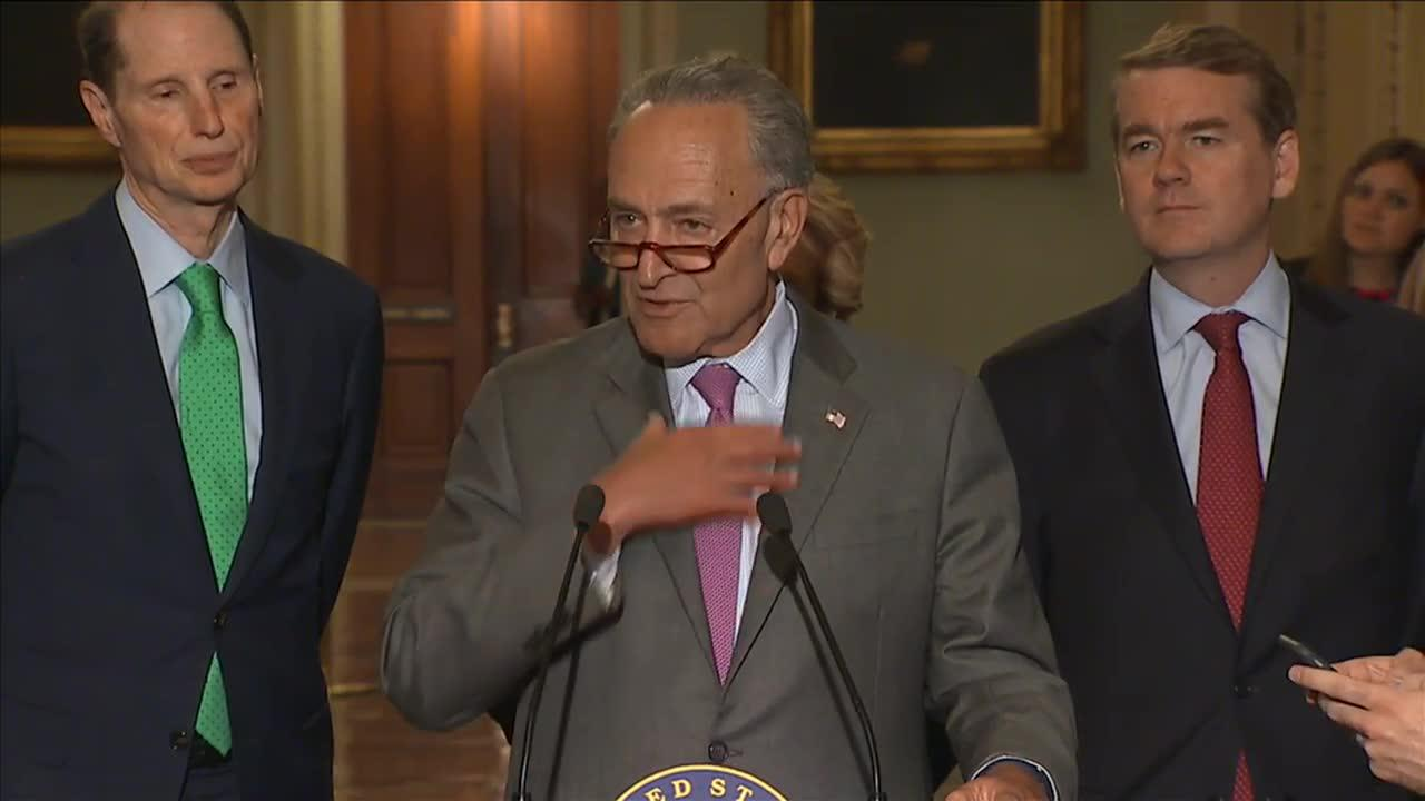 Schumer says Flake 'has great integrity'