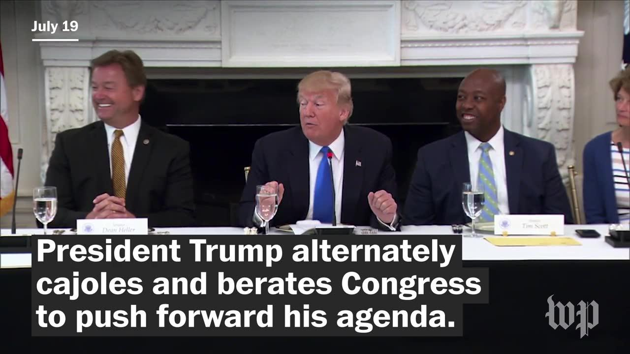 Trump'S Festering Issues With Congress