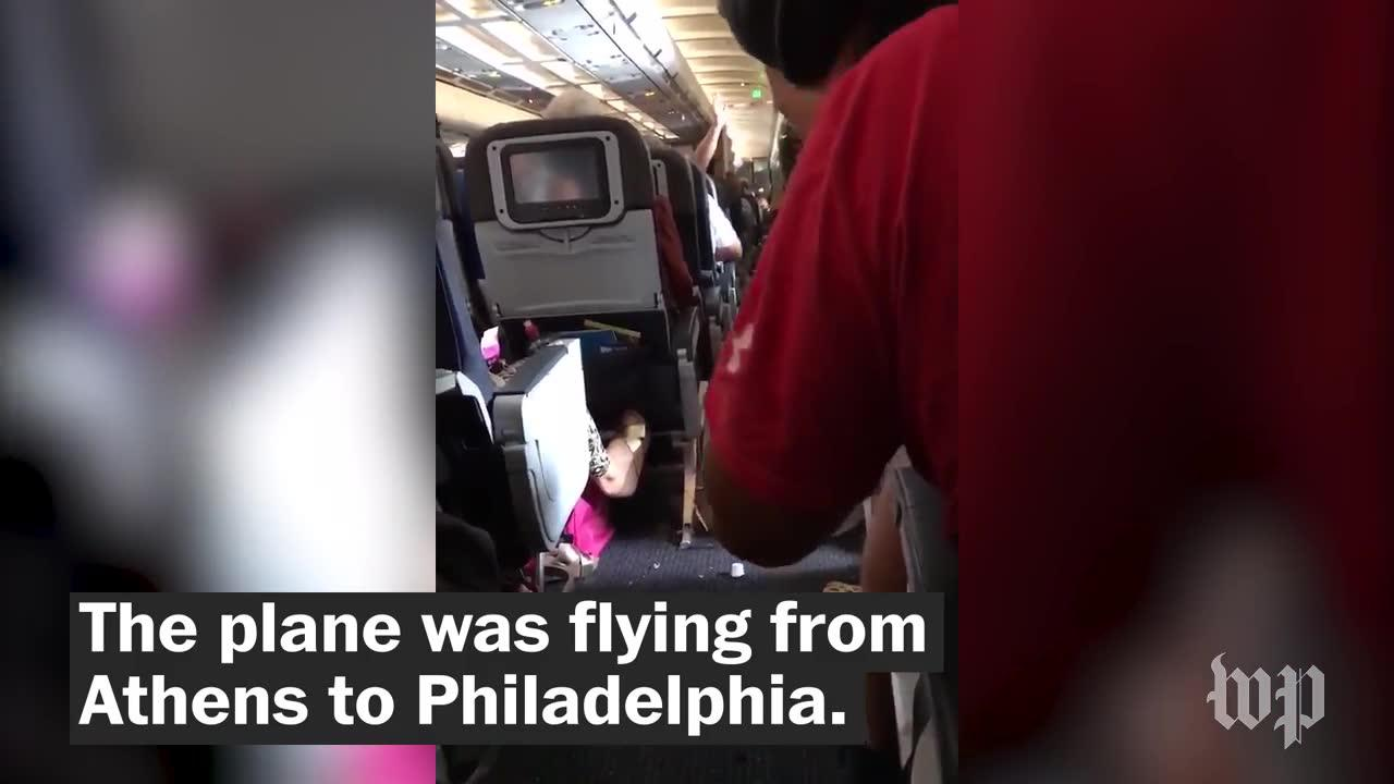 Video Captures The Moments After Severe Turbulence Hit Plane