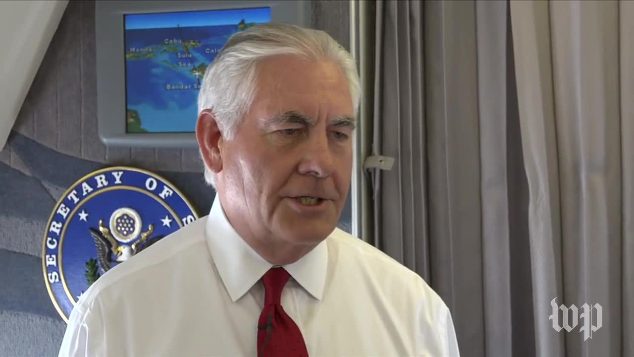Tillerson Says No 'Imminent Threat' From North Korea