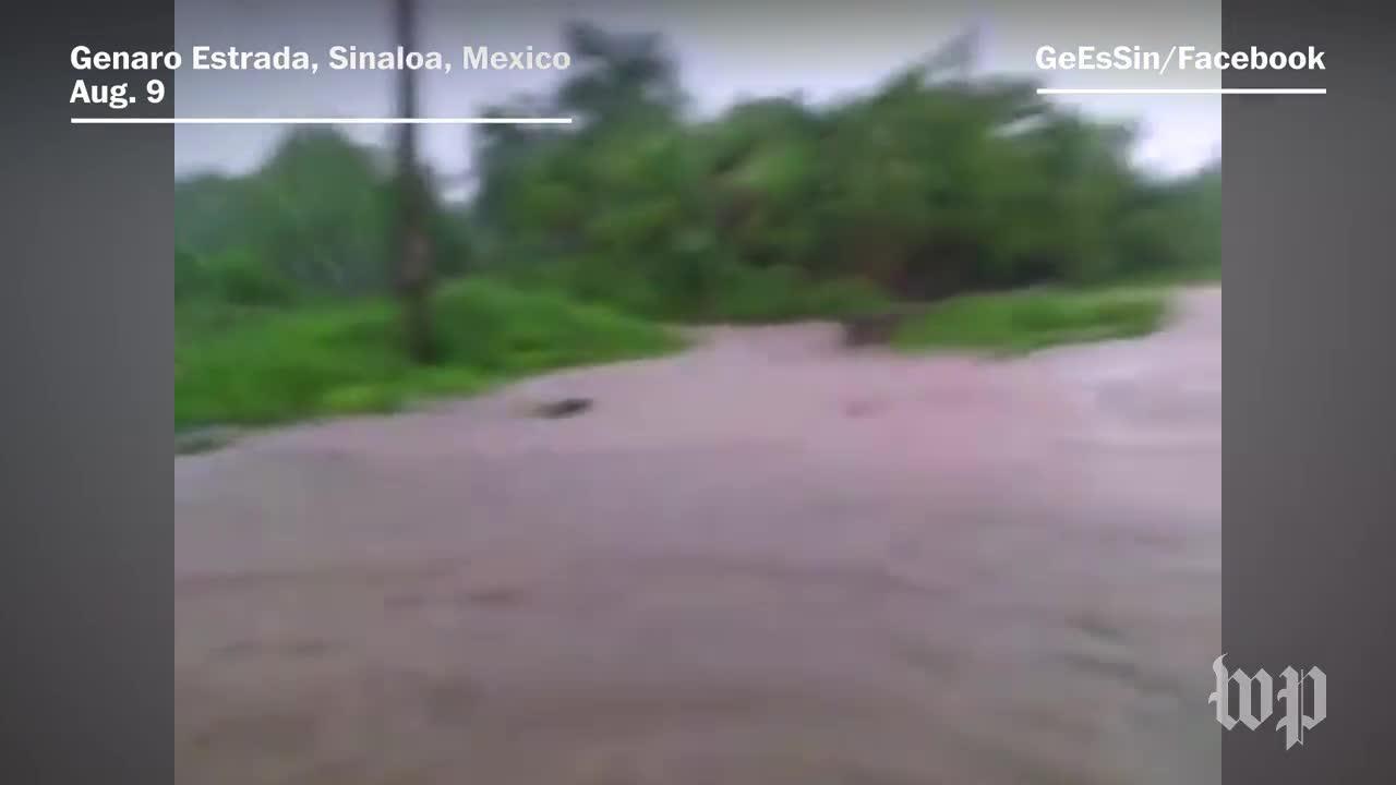 Hurricane Franklin Makes Landfall On Mexico'S Coast