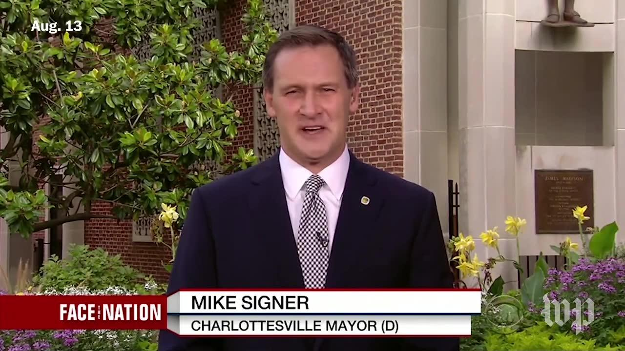 Charlottesville Mayor, White House Comment On Trump'S Reaction To _...