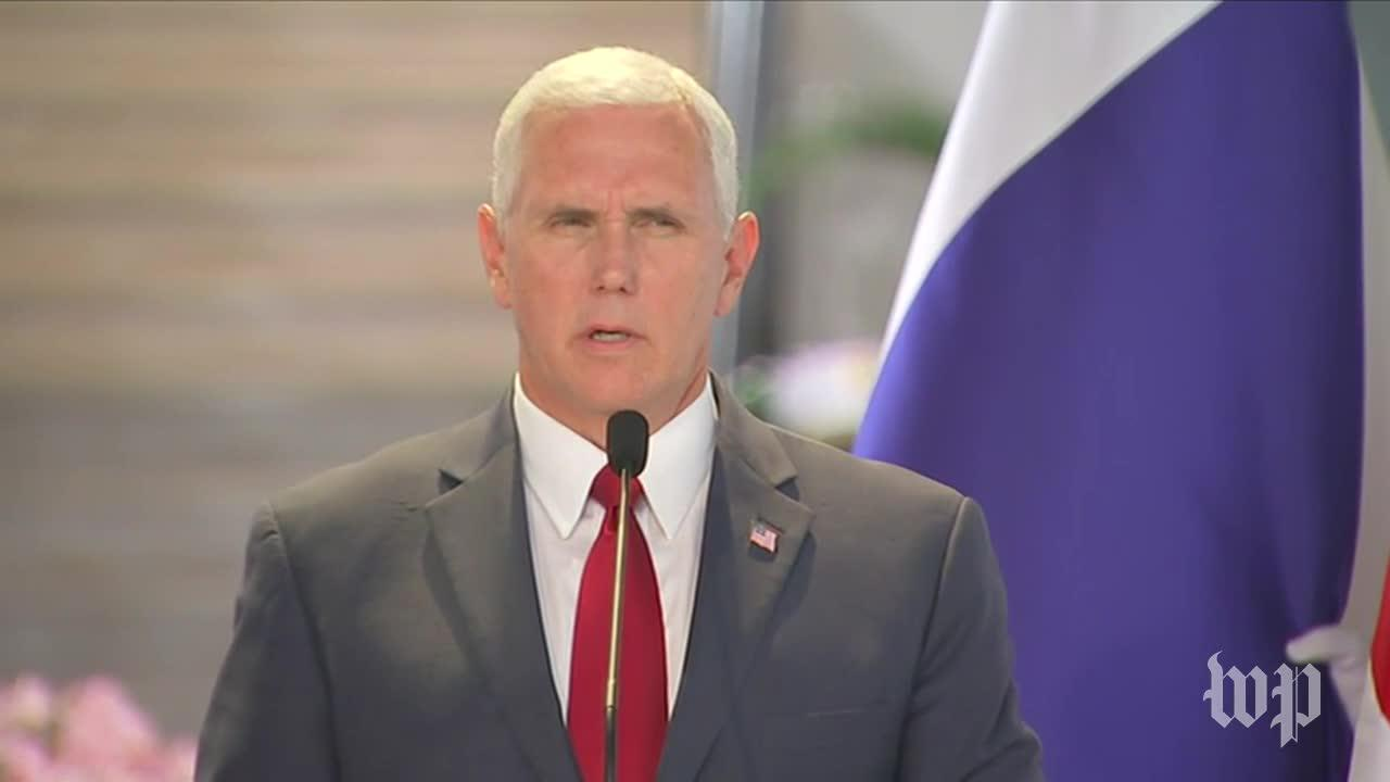 Pence: U.S. And Allies Will Drive The 'Evil Of Radical Islamic Ter_...