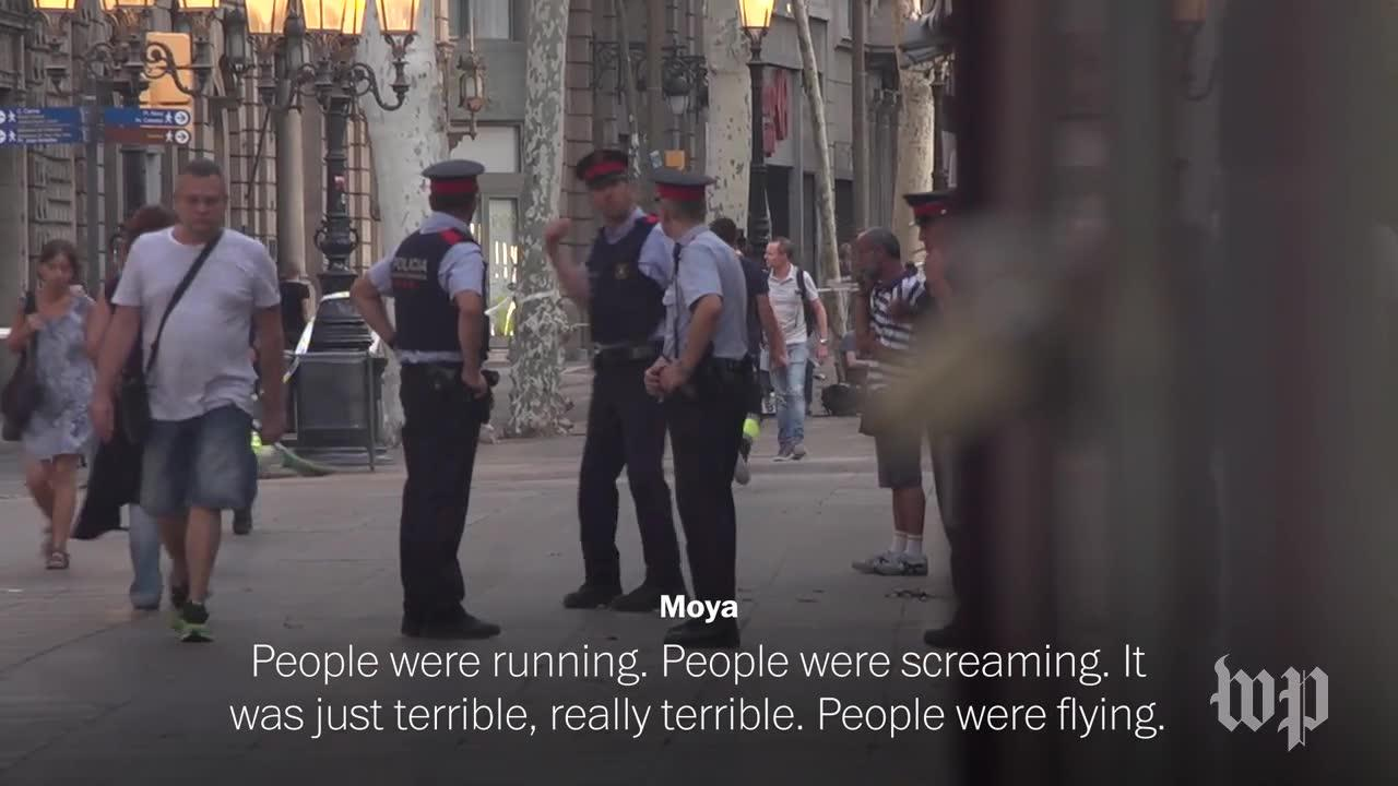 Las Ramblas Witness: 'People Were Running For Their Lives'