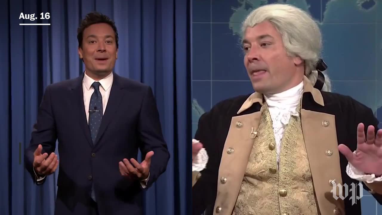 'Weekend Update' Takes On Charlottesville
