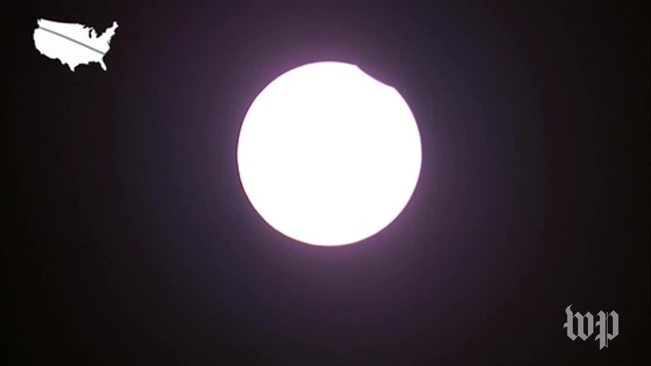 Totality Begins In Oregon