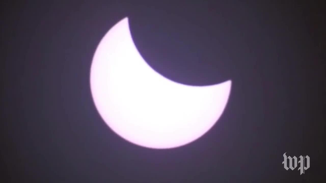 Timelapse: Watch Oregon'S Total Solar Eclipse In 30 Seconds