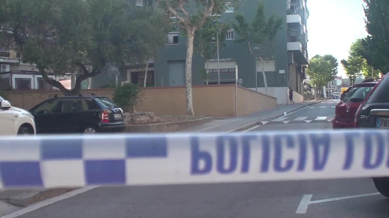 The Scene Where Barcelona Attacker Was Shot And Killed
