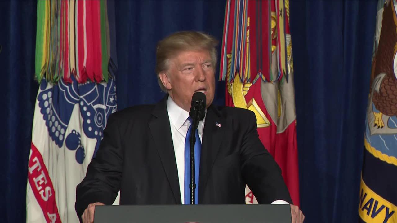 Trump: 'My Original Instinct Was To Pull Out' Of Afghanistan