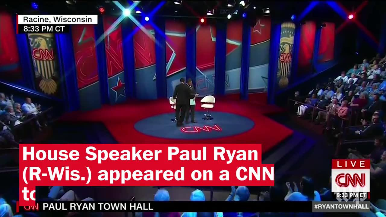 Four Takeaways From Paul Ryan'S Cnn Town Hall