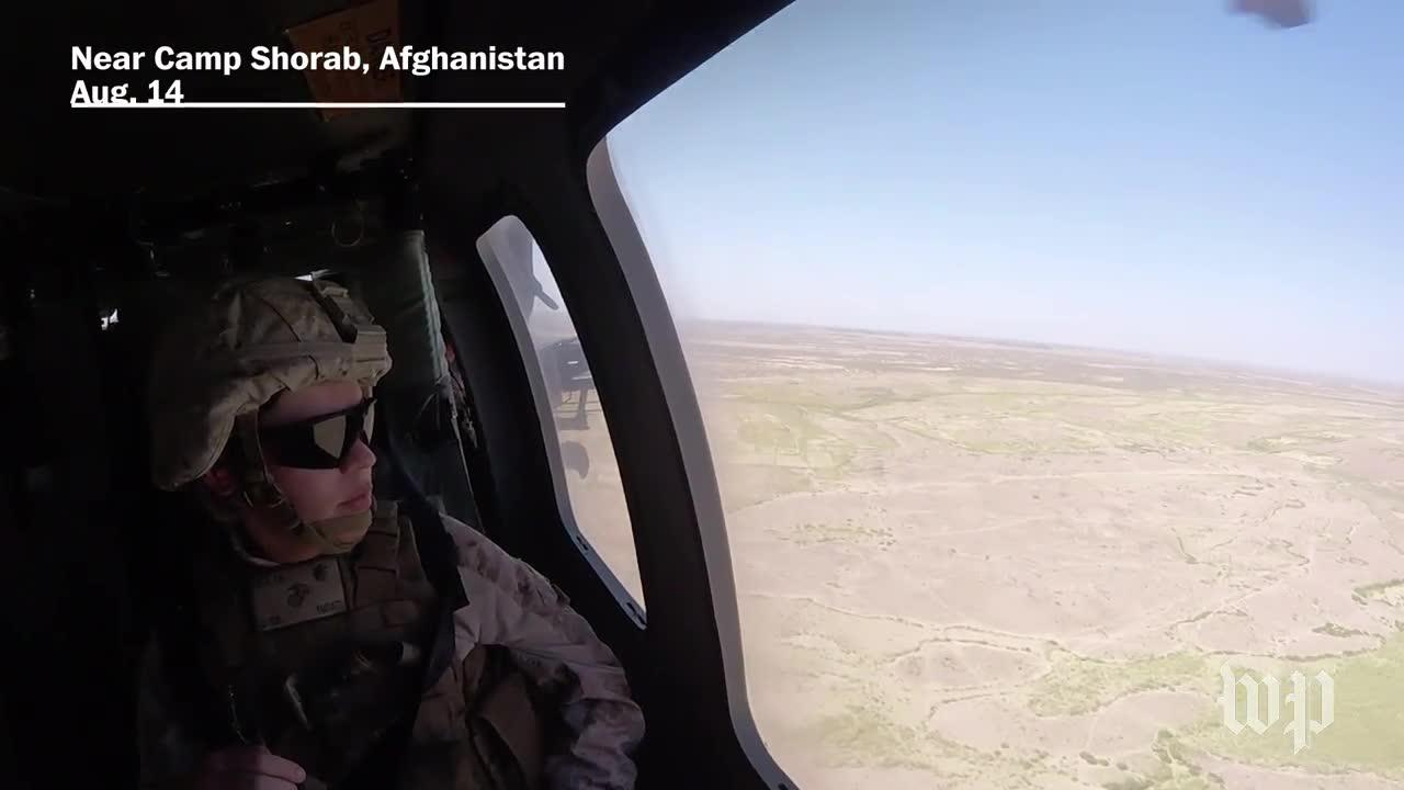 Flying Over Afghanistan With Task Force Southwest