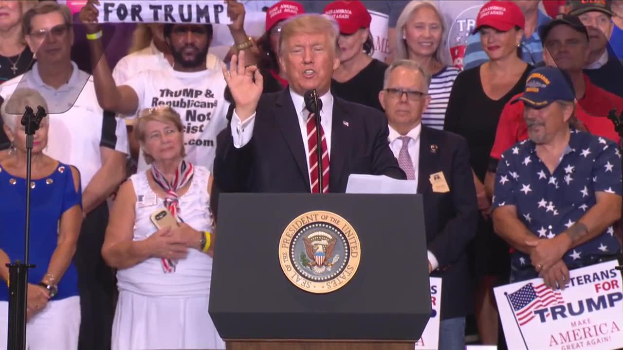 Trump Laments Cnn Firing Jeffrey Lord: 'Poor Jeffrey'