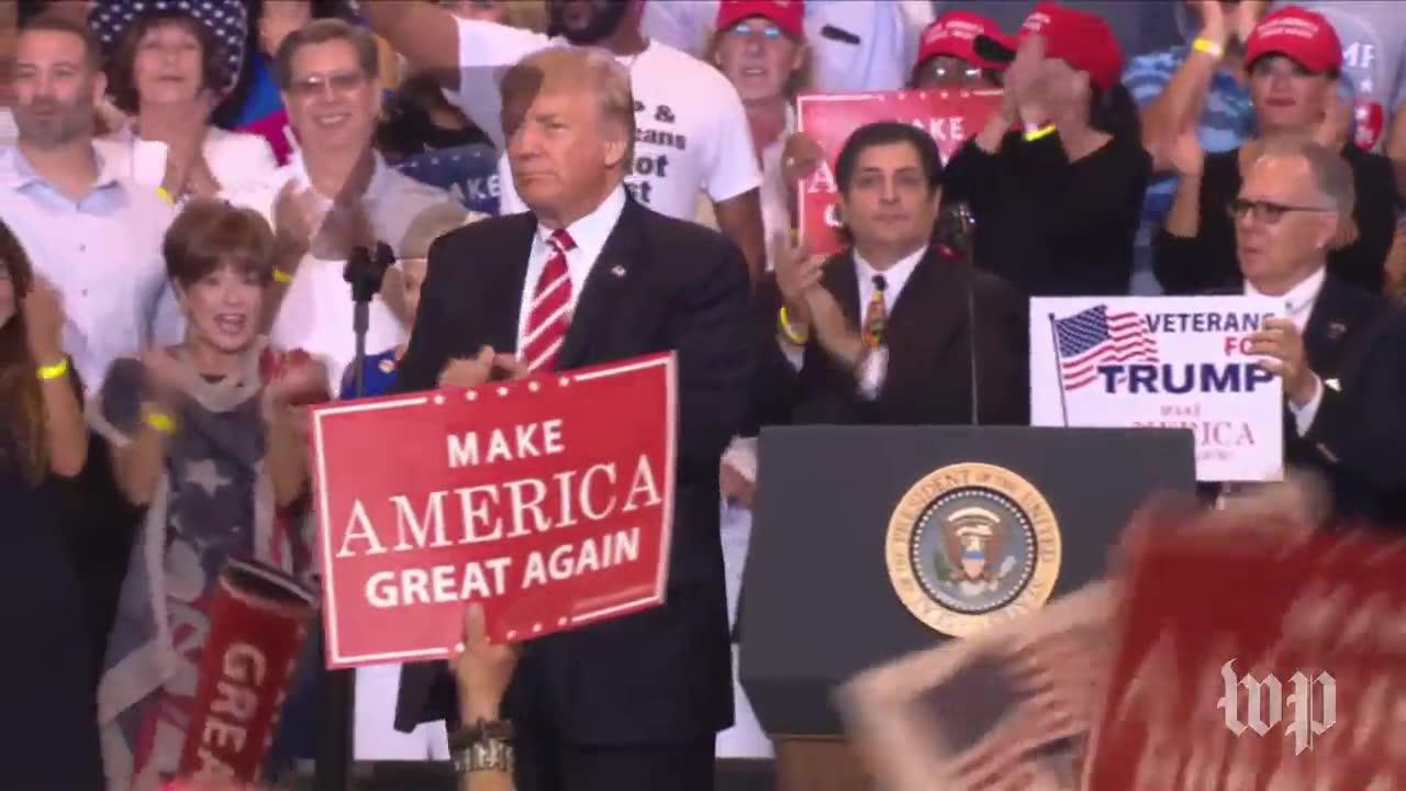 Trump Reminisces On Campaign Trips To Arizona