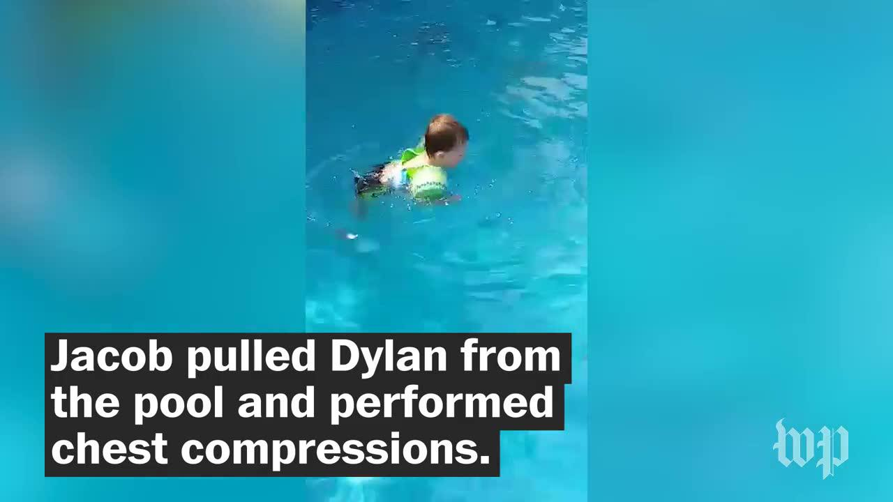 Michigan Boy Saves Drowning Little Brother, Credits Movie Starring_...