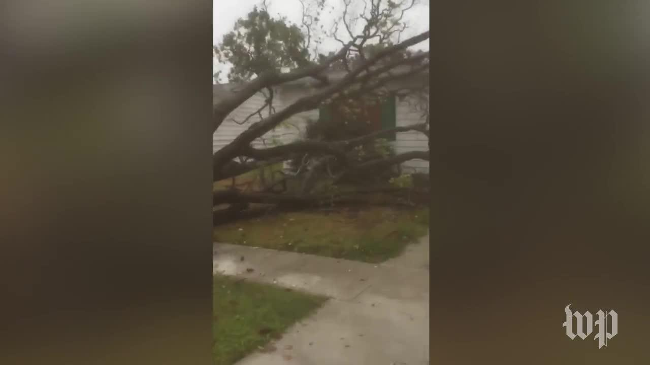 Hurricane Harvey Strikes Texas