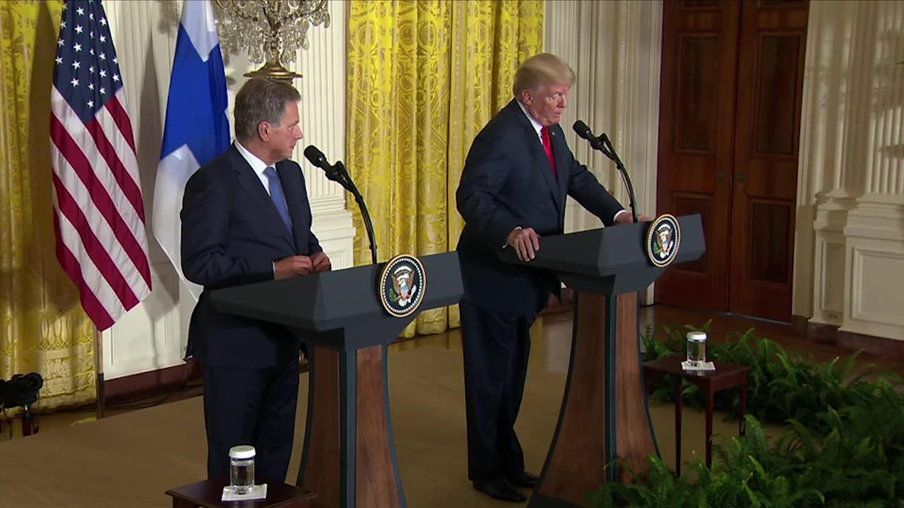 President Trump'S Full News Conference With President Niinistö