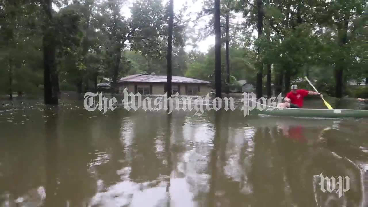 'A Lot Of Homes Underwater, A Lot Of Sadness' In Houston