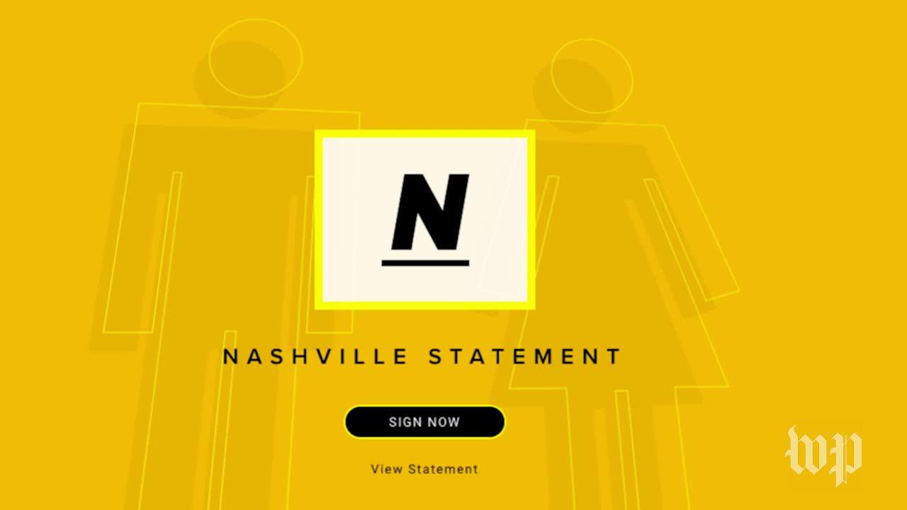 What Is The Controversial 'Nashville Statement?'