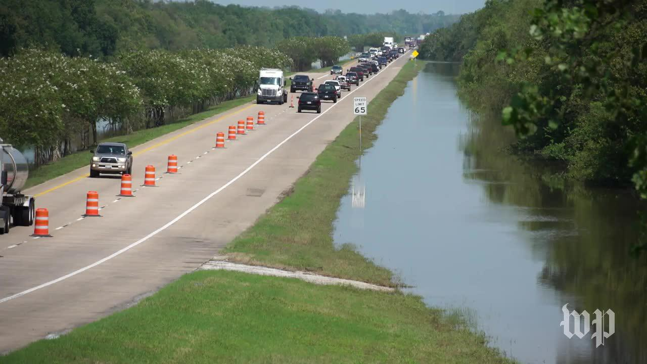 In Southeast Texas, Detours And Dangers For Drivers After Harvey