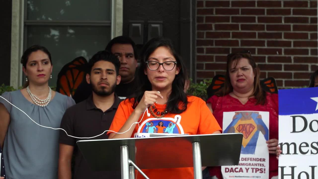 Houston Activists Respond To The Trump Administration'S Daca Annou_...
