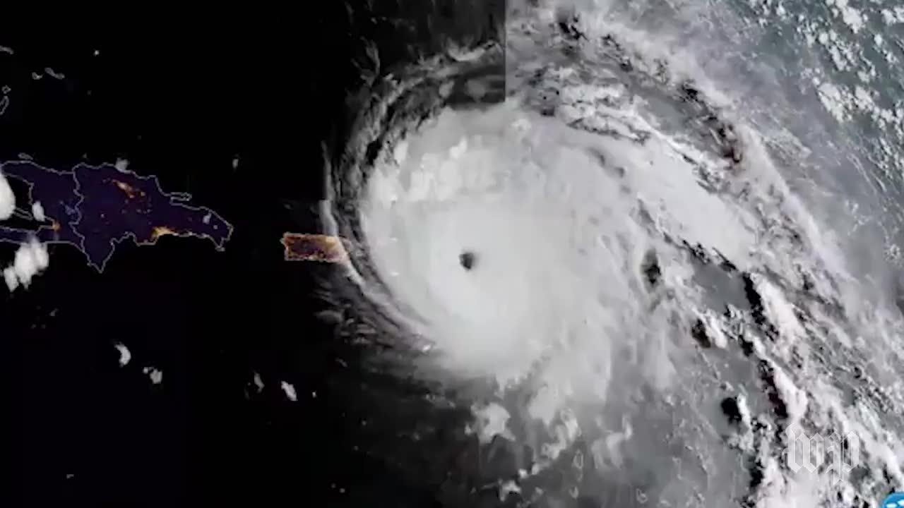 Watch Irma From Space