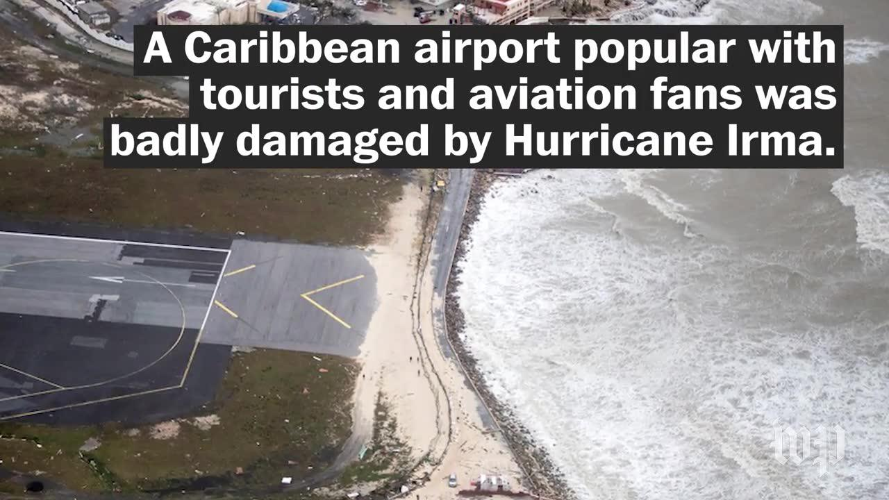 This Famous Airport Was Badly Damaged By Hurricane Irma