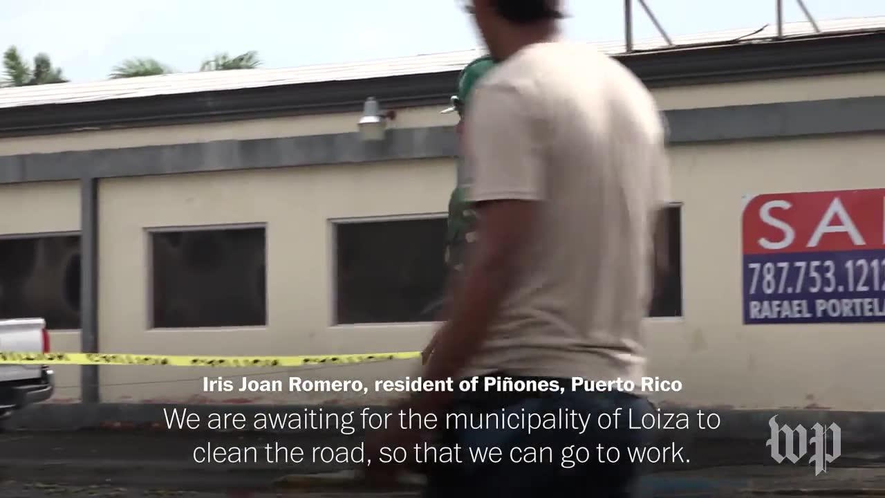 Puerto Rico Begins Clearing Up The Damage From Hurricane Irma