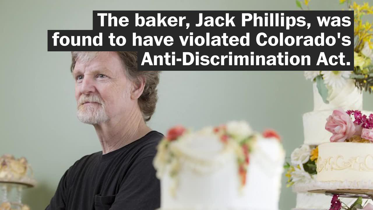 Justice Dept. Sides With Baker Who Refused To Make Wedding Cake Fo_...