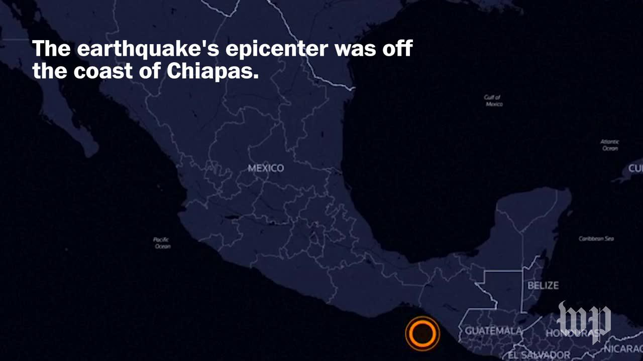 Mexico Was Just Hit With Its Most Powerful Quake In 100 Years