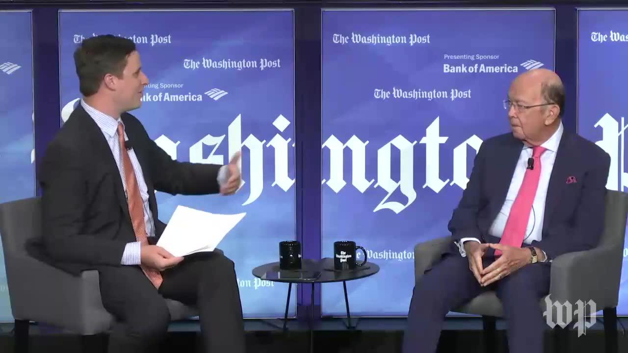 Commerce Secretary Wilbur Ross Comments On Relationship Between Wh_...