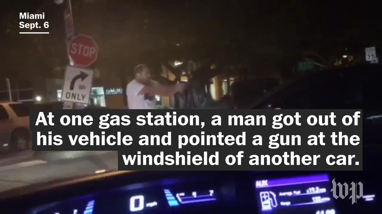 Traffic Jams, Gas Shortages And A Drawn Gun As Florida Evacuates F_...