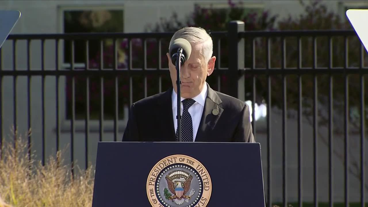Mattis: 'Heroism And Compassion Were Boundless On 9/11'