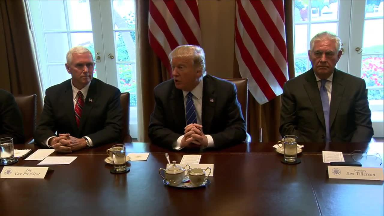 Watch President Trump'S Full Introductory Remarks With Malaysian P_...