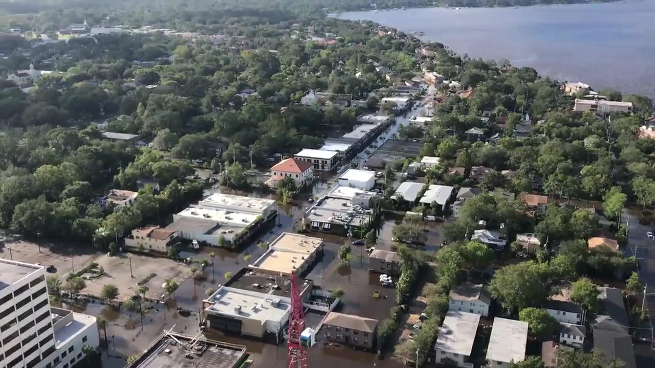 See Irma'S Flooding From The Sky