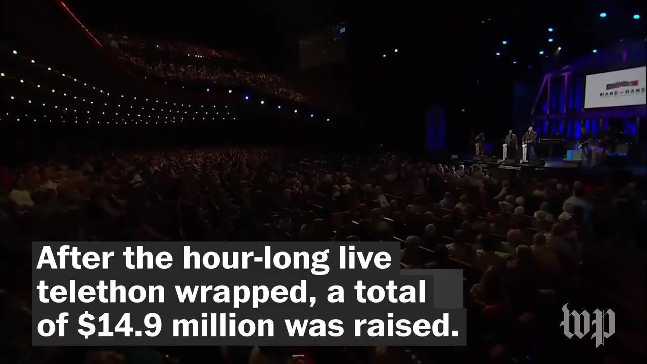 Celebrity Telethon Raises Almost $15 Million For Hurricane Victims