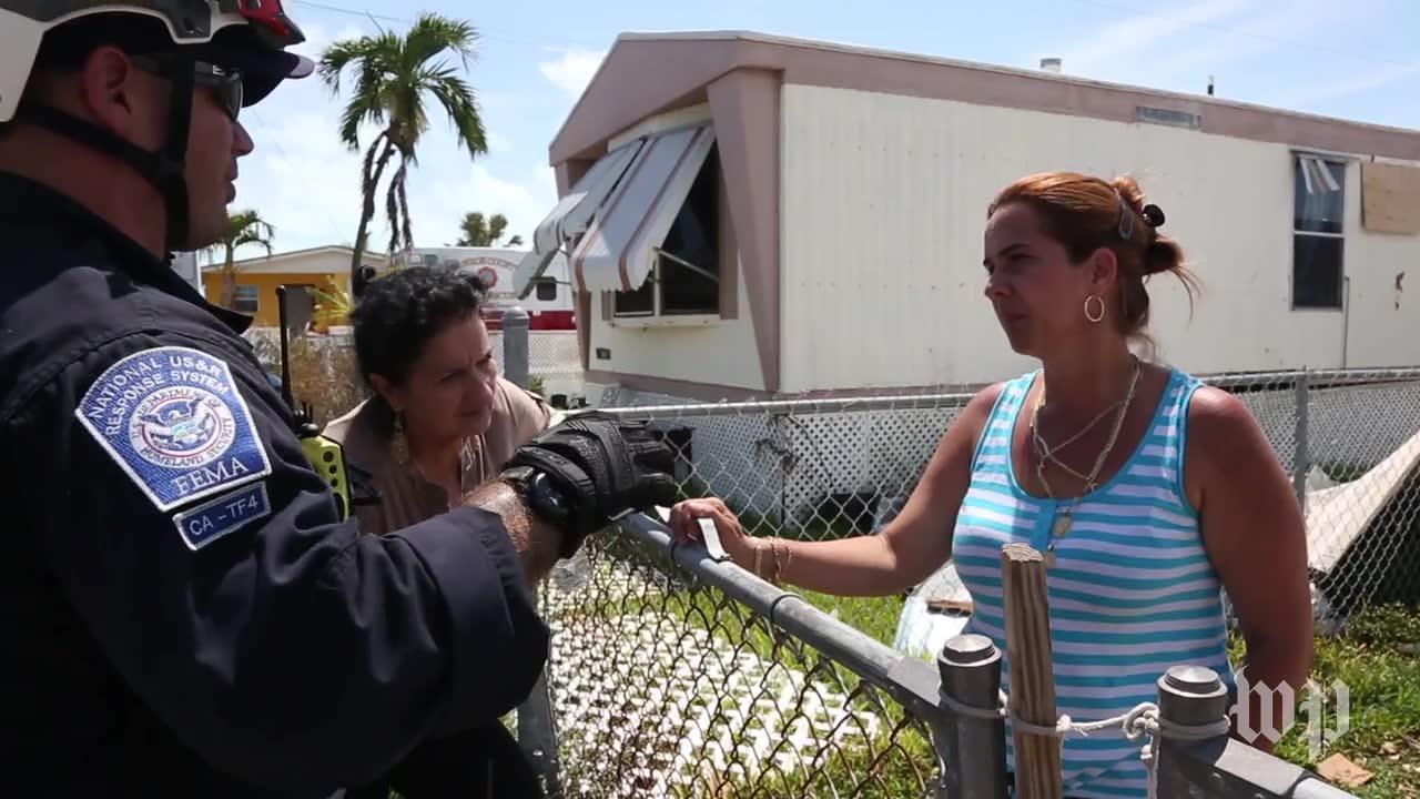 Fema Surveys Florida Keys After Hurricane Irma Destruction