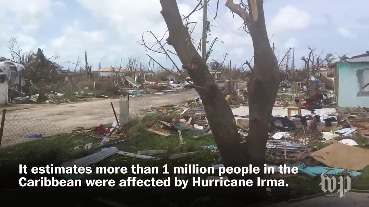 New Video Shows Total Devastation On Barbuda After Irma