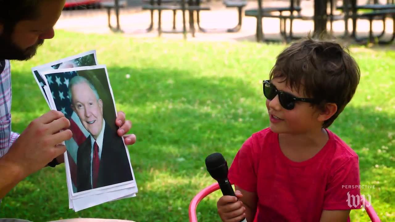 Short Takes: Kids Try To Identify Politicians