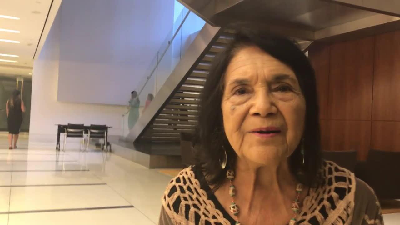 Dolores Huerta: 'We'Ve Got To Engage'