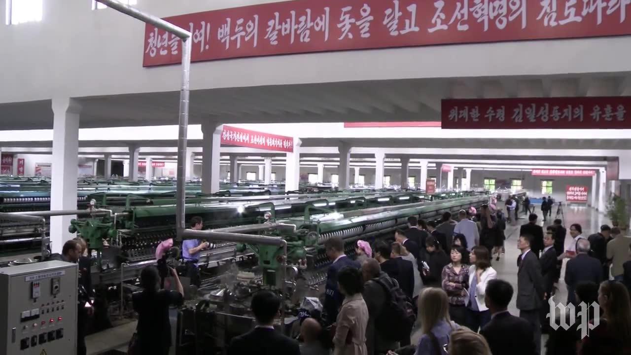 Go Inside A North Korean Silk Factory