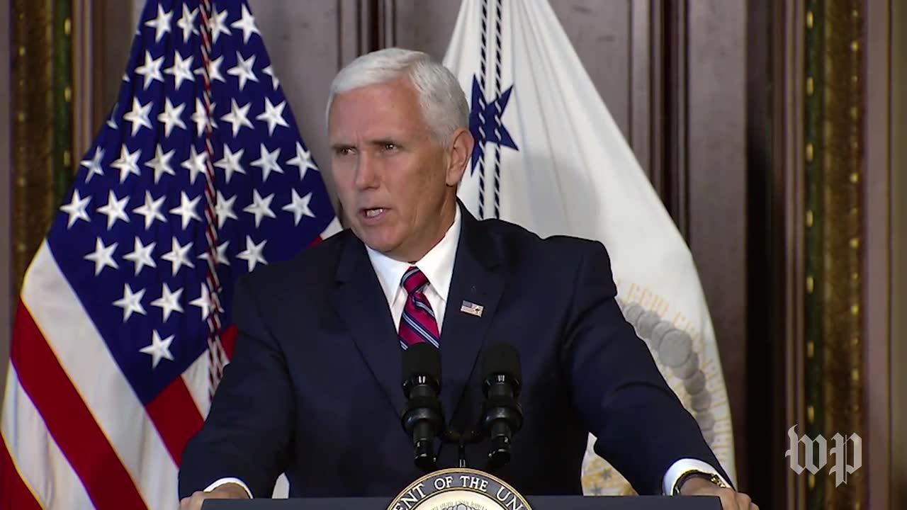 Pence: Veterans 'Will Never Have A Better Friend In The White Hous_...