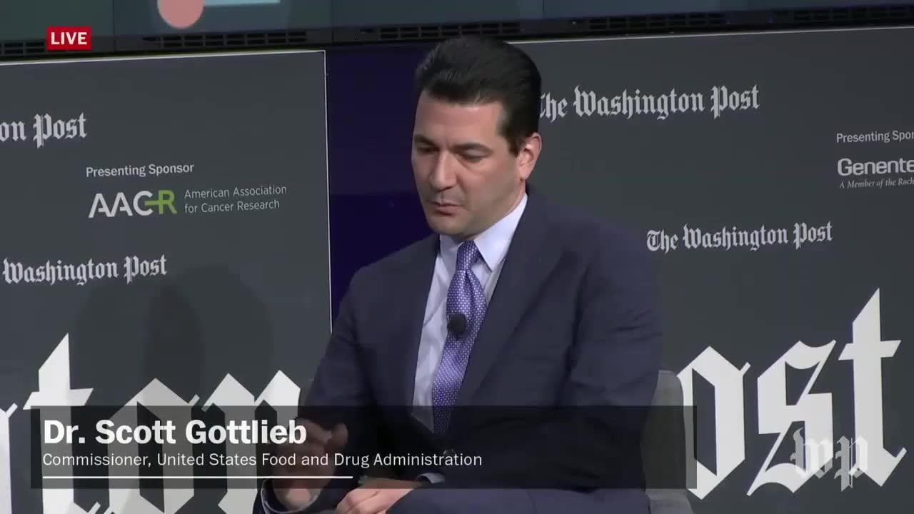 Fda Commissioner Scott Gottlieb Calls First Gene Therapy Approval _...