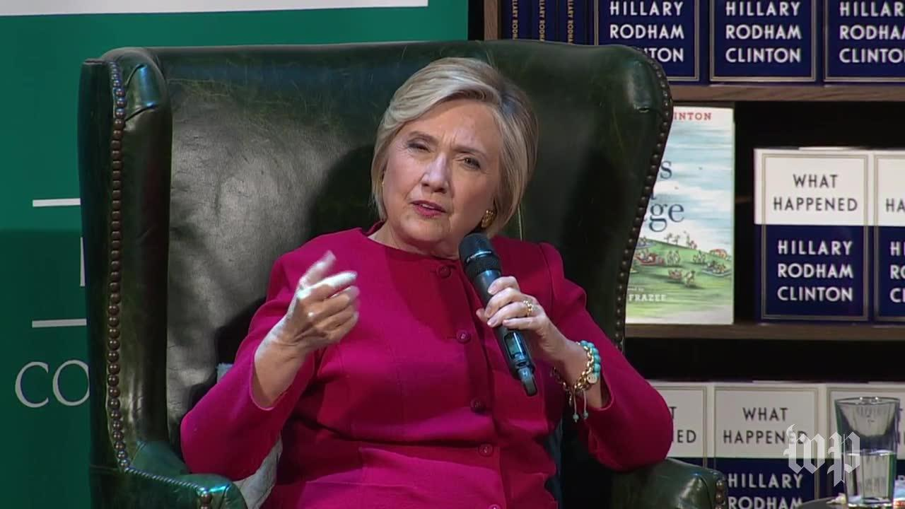 Clinton 'Worried About The Fundamental Future Of Our Country' Afte_...