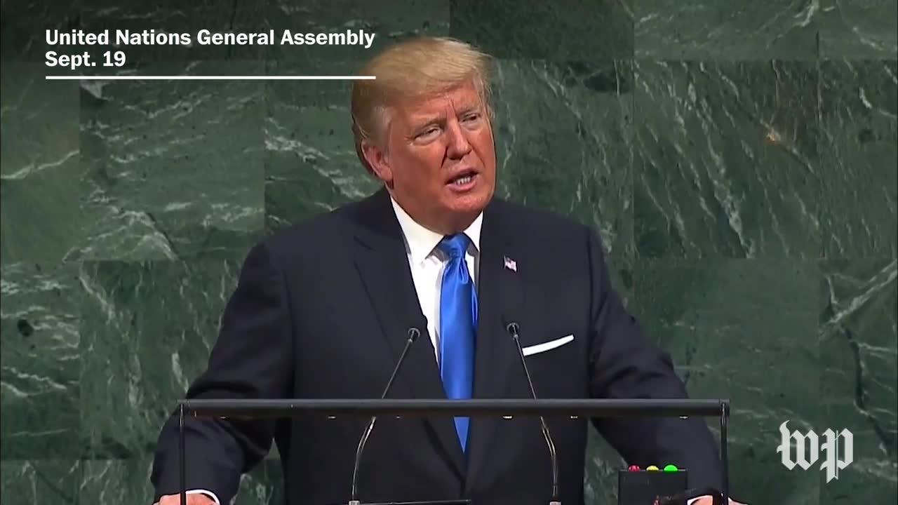 Trump'S Remarks At The U.N., In 4 Minutes
