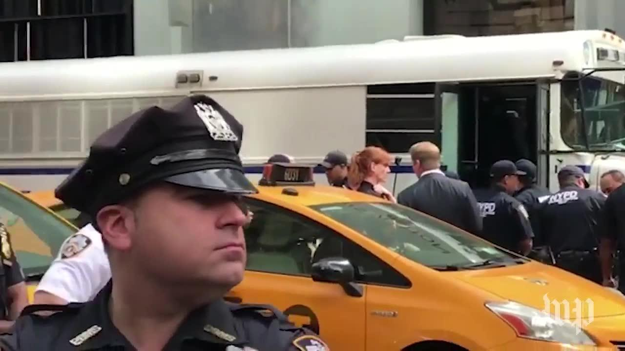 Democratic Congressmen Arrested In Protest Outside Trump Tower